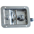 Folding T-handle latch lock GS-249T SS